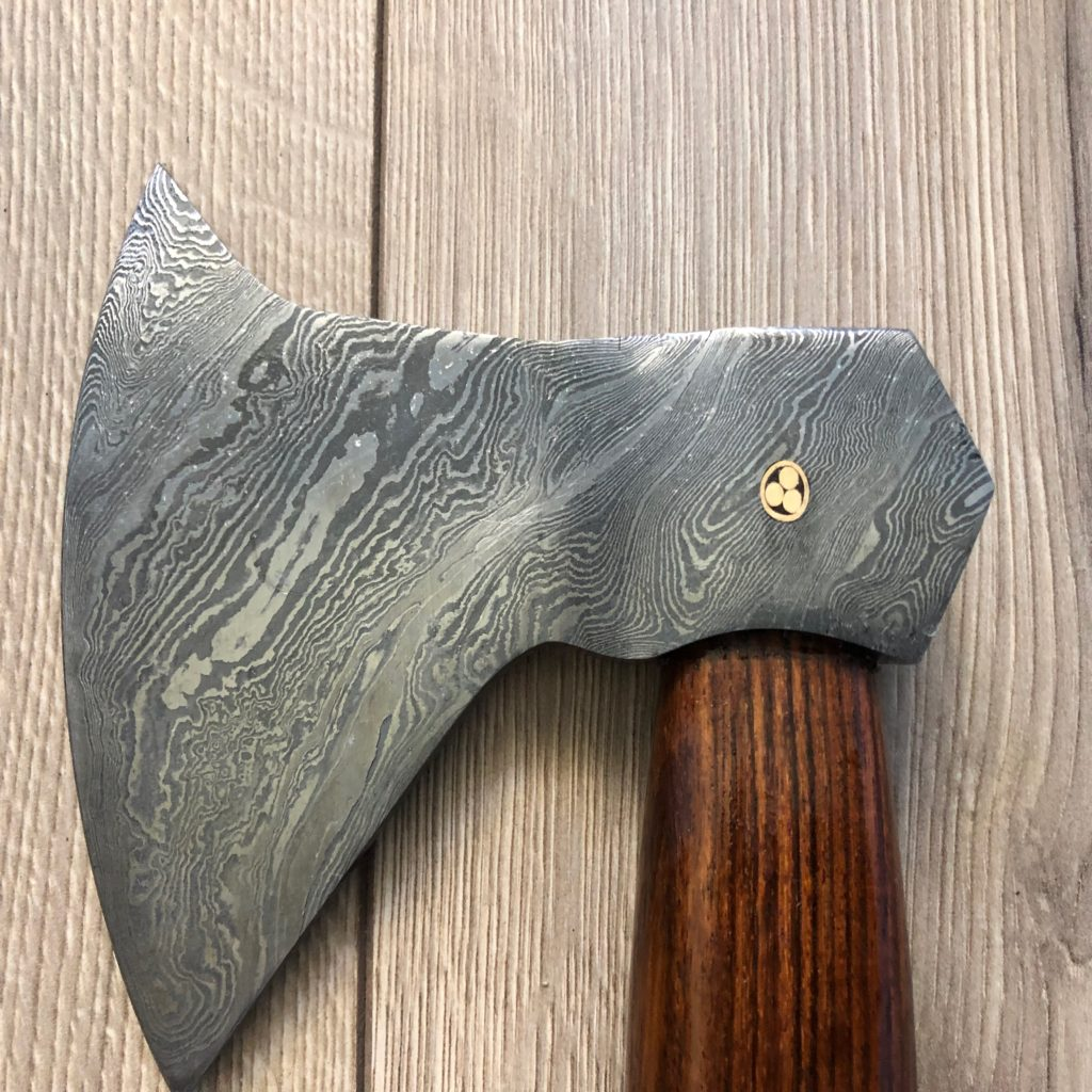 How To Clean Your Damascus Steel Axe From Rust - Fellmark